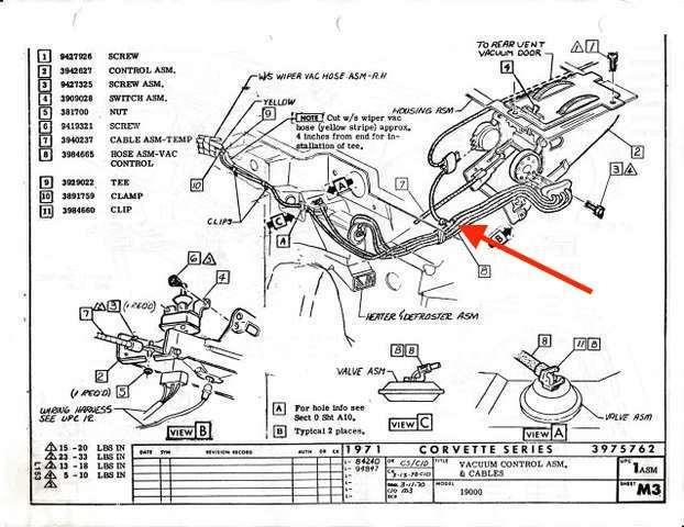 Astro Ventilation 1971 Corvette Vacuum Diagram