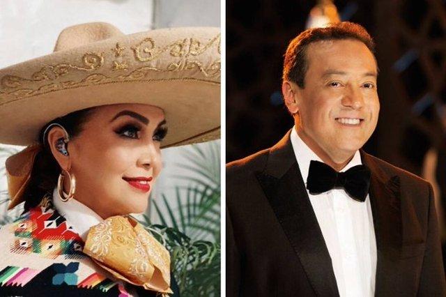 Aida Cuevas lanza advertencia a su hermano el cantante Carlos Cuevas