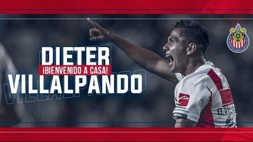 Confirmado Dieter Villalpando es nuevo refuerzo de Chivas