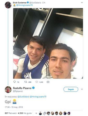 Pizarro bromea con Lozano y Gutiérrez