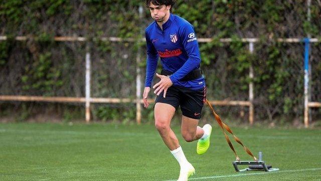 Joao Félix sufre un esguince y es baja del Atlético de Madrid