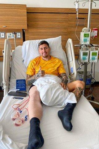Nicolás Castillo regreso al hospital por sangrado