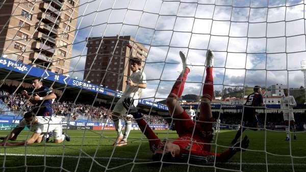 Resultado Eibar vs Real Madrid en J13 de La Liga