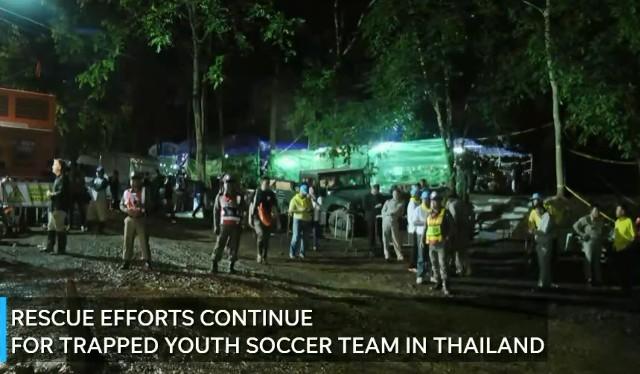 Rescate de equipo fútbol tailandés tras 10 días perdidos en cuevas en Vivo – Miércoles 4 de Julio del 2018