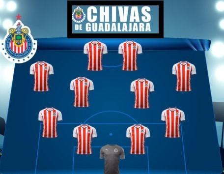 Convocados de Chivas para el partido ante Santos