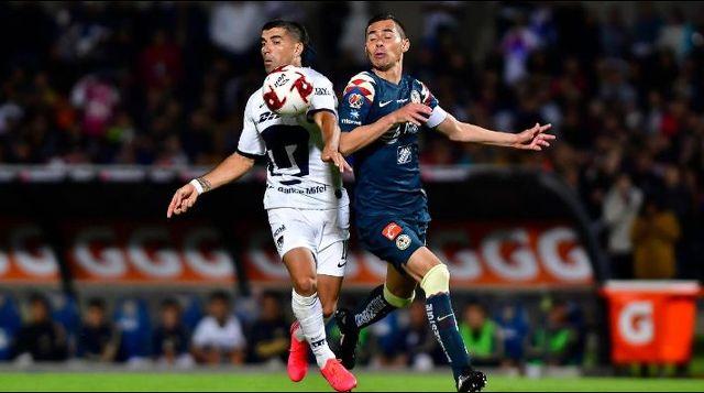 Inédita defensa de Club América vs. Pumas
