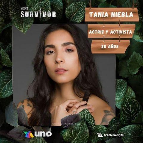 Tania Niebla participante de Survivor 2021
