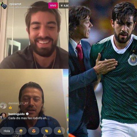 Almeyda y Pizarro ídolos de Chiva confiesan que volverían a Chivas