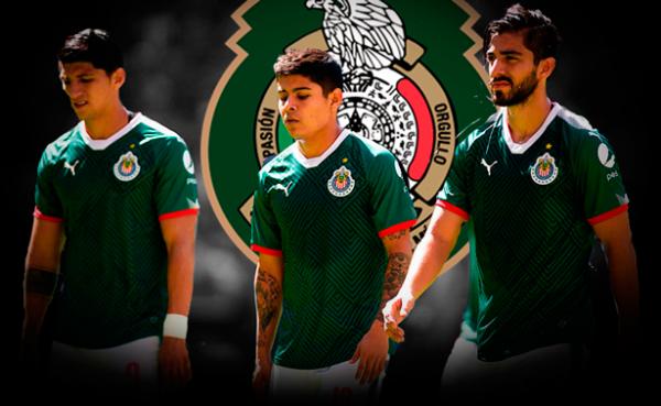 Chivas no aporta jugadores al Tri, aunque varios son canteranos