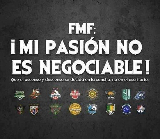 Equipo de Ascenso MX se unen y no aceptaran su desaparición