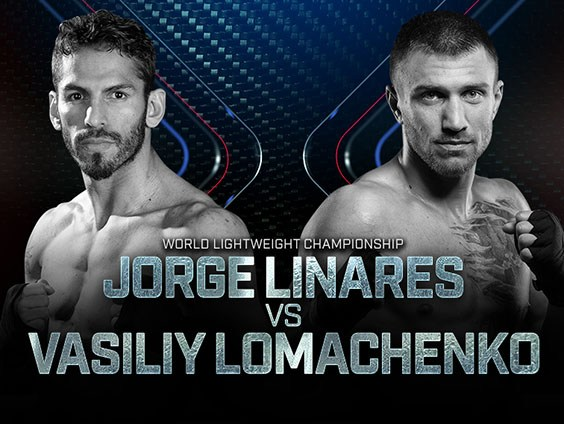 Jorge Linares vs Vasyl Lomachenko en Vivo – Box – Sábado 12 de Mayo del 2018