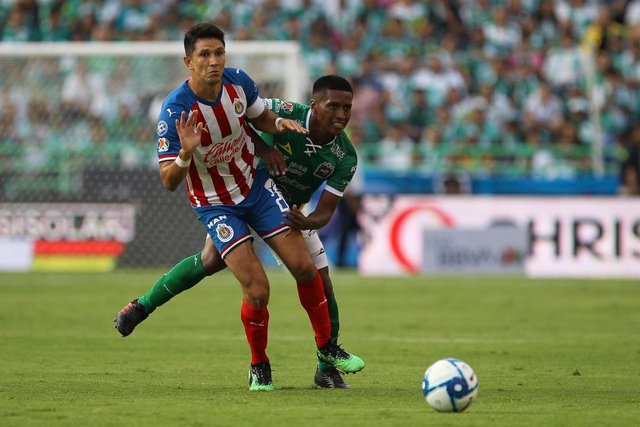 Resultado León vs Chivas -Jornada 5- Apertura  2019