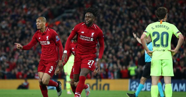 Resultado Liverpool vs Barcelona – Semifinal –  Champions League