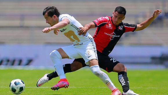 Resultado Pumas vs Atlas – Jornada 1 – Apertura 2021-  Liga MX