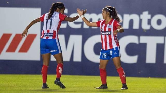 Resultado Atlético San Luis vs Cruz Azul – J6 – Apertura 2019 – Liga MX Femenil