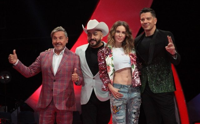 Coaches de La Voz México en Azteca 2019