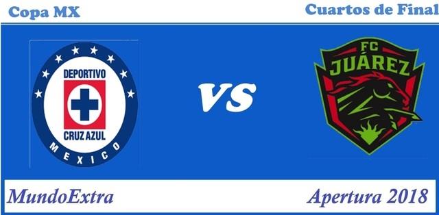 Cruz Azul vs FC Juarez – Copa MX – Transmisión por TV, fecha y hora
