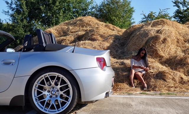 Bmw Z4m Roadster 2006 Zilver Hardtop Bilstein Belgie