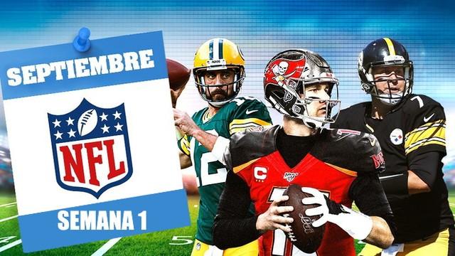 Así se jugará la Semana 1 de NFL – 2020
