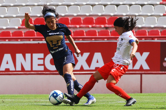 Resultado Necaxa vs Pumas – J6 – Apertura 2019 – Liga MX Femenil