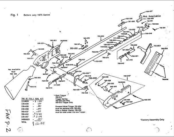 30 Crosman 760 Pumpmaster Parts Diagram