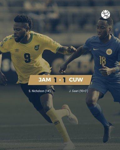 Resultado Jamaica vs Curazao – Copa de Oro 2019