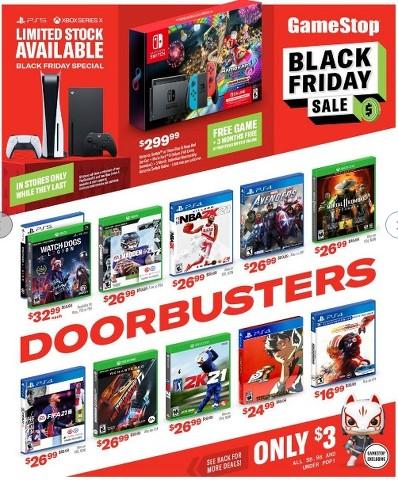 Ofertas de GameStop de Viernes Negro 2020
