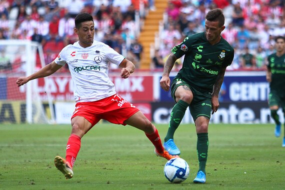 Resultado Necaxa vs Santos -Jornada 5- Apertura  2019