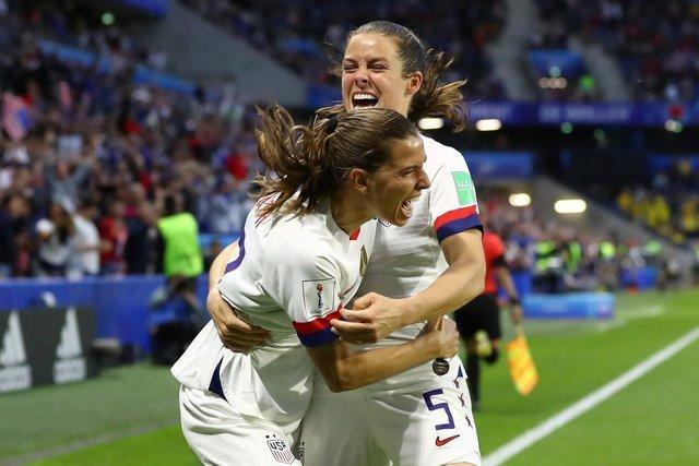 Resultado Estados Unidos vs Suecia – Mundial Femenil Francia 2019