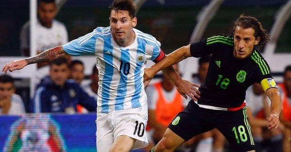 Partido amistoso México vs Argentina en Septiembre