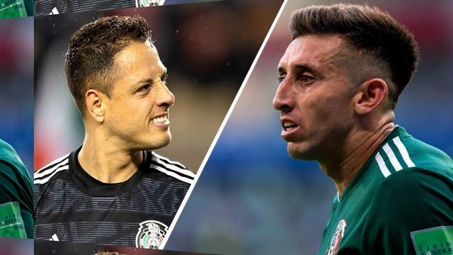 Chicharito y Herrera fuera de la Copa Oro