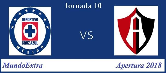 Cruz Azul vs Atlas – Transmisión por TV, fecha y hora