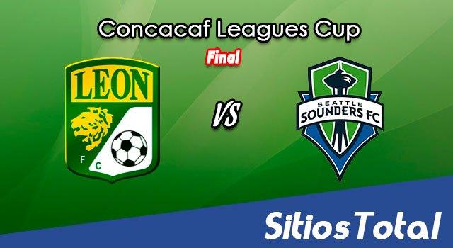 León vs Seattle Sounders en Vivo – Leagues Cup – Final  – Miércoles 22 de Septiembre del 2021