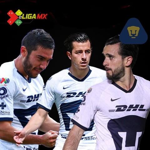 Representantes de Pumas en la eLiga MX