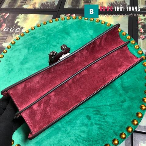 Gucci Dionysus Small Size 28 cm, khóa đầu rồng đỏ đô