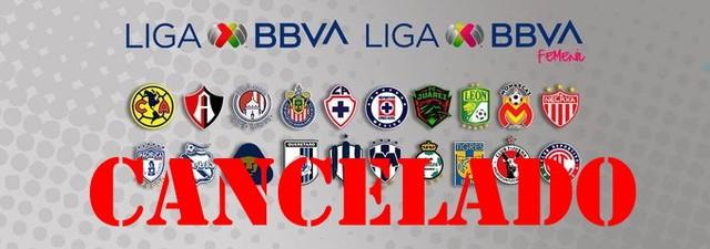 Oficial se cancela el Torneo Clausura 2020 de la Liga MX