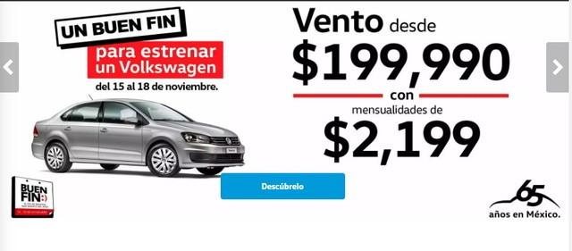 Ofertas Volkswagen El Buen Fin 2019