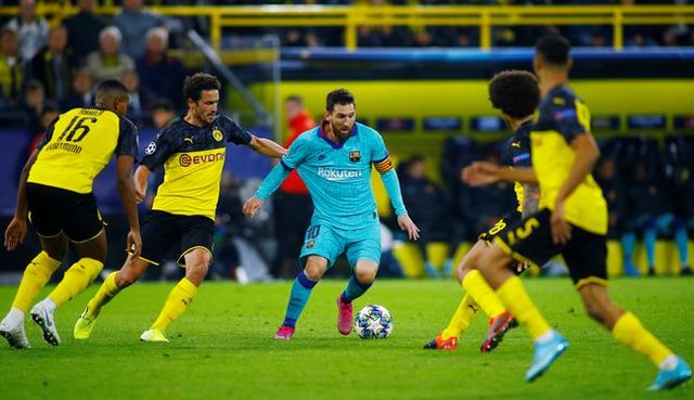 Resultado Borussia Dortmund vs Barcelona – Fase de Grupos –  Champions League