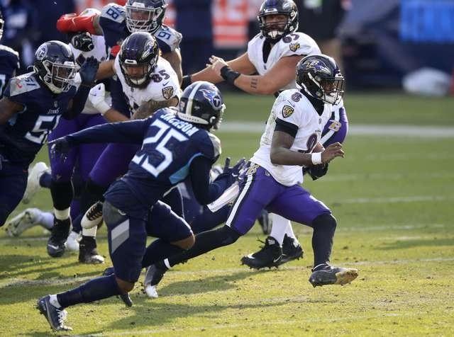 Resultado Cuervos de Baltimore vs Titanes de Tennessee – Ronda comodines – NFL 2020
