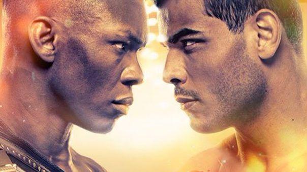 UFC Preliminares Adesanya vs Costa en Vivo – Sábado 26 de Septiembre del 2020