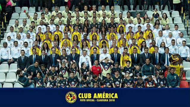 Foto Oficial de América
