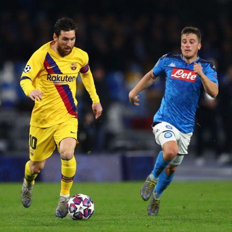 Resultado Napoli vs Barcelona – Octavos de Final –  Champions League 2019-2020