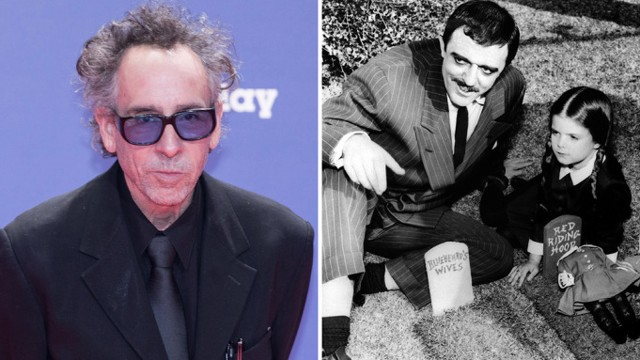 Tim Burton negocia por la serie de TV de acción 'Addams Family'