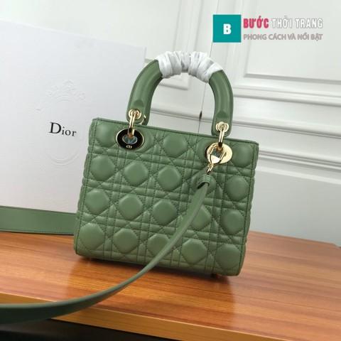 Túi xách Dior Lady siêu cấp ô 3 size 20 cm