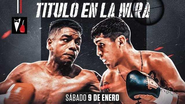 Franco 'Cazador' Ocampo vs César 'El Gato' Antín en Vivo – Box – Sábado 9 de Enero del 2021