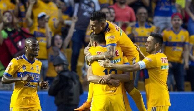 Resultado  Tigres vs Santos en Cuartos de Final (Ida) del Clausura 2018