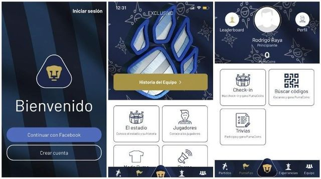 Pumas UNAM presenta su nueva aplicación para smartphones