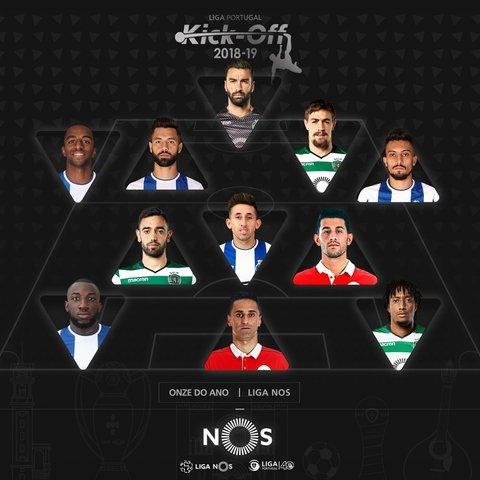 Héctor Herrera dentro del 11 titular de la liga de Portugal