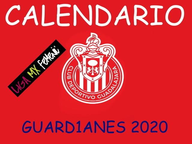 Calendario de Chivas Femenil – Guard1anes 2020