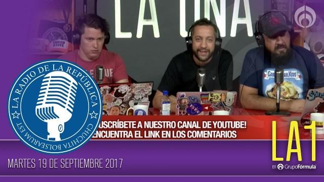 La Radio de la República con Chumel Torres en Vivo – Lunes 3 de Junio del 2019